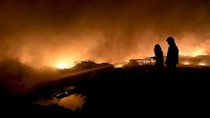 63 fogos até às 18:45 de hoje