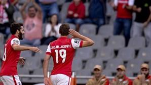 Sporting de Braga goleia Marítimo e sobe a quarto da I Liga
