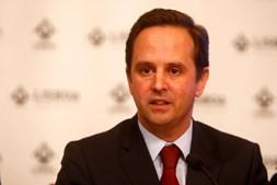 Fernando Medina é o presidente da Câmara Municipal de Lisboa