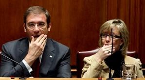 Pedro  Passos Coelho  e Maria Luís  Albuquerque geriram a  intervenção  da troika  em Portugal  entre 2011  e maio de 2014