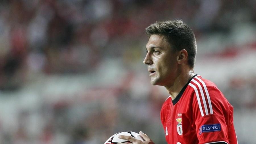 Guilherme Siqueira, de 29 anos, jogou no Benfica na época 2013/14