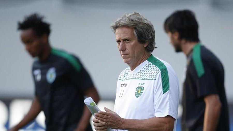 o Sporting, treinado por Jorge Jesus, foi eliminado da Liga dos Campeões pelo CSKA de Moscovo