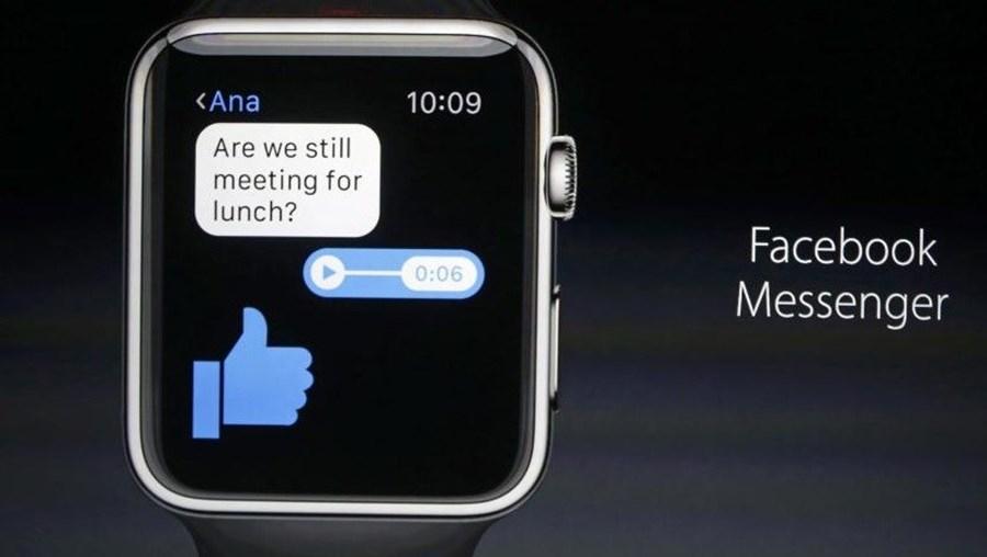 O Facebook Messenger chega ao Apple Watch com a nova atualização