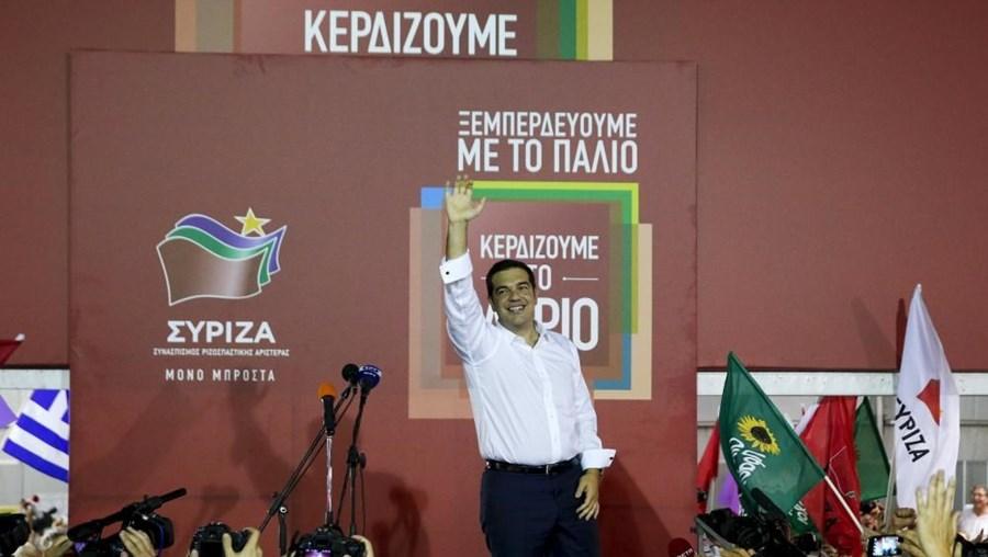Tsipras foi reeleito primeiro-ministro da Grécia