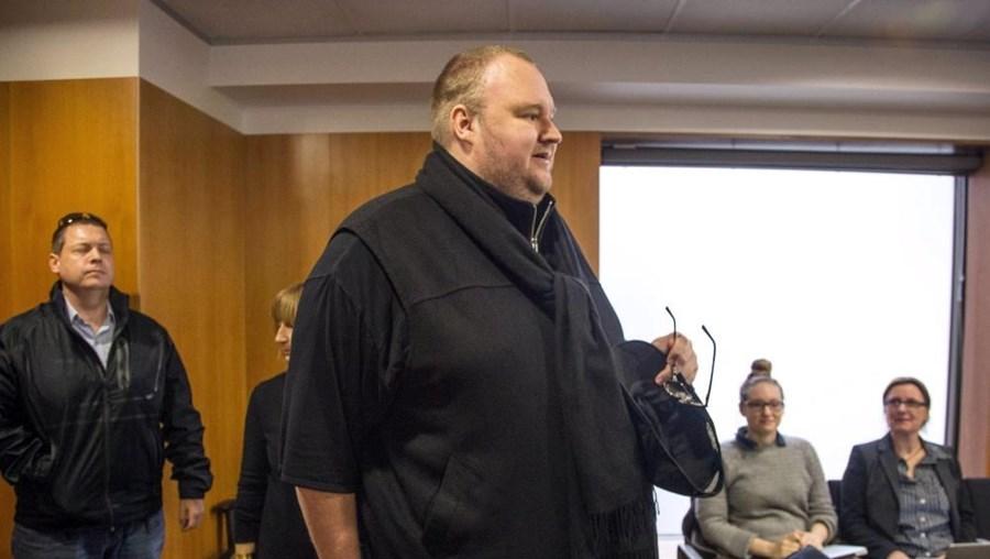 Kim Dotcom está acusado de pirataria informática, entre outros crimes