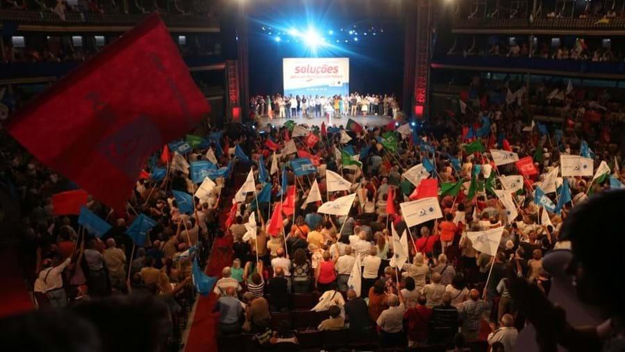 CDU esteve em comício no Coliseu dos Recreios no domingo