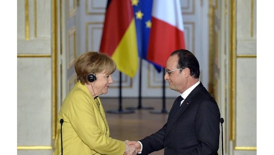 O único discurso conjunto franco-alemão foi em 1989