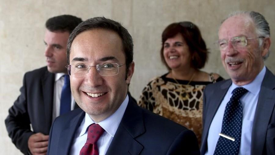 O ministro do Ambiente, Ordenamento do Território e Energia Jorge Moreira da Silva