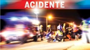 Despiste de veículo de mercadorias fez um morto