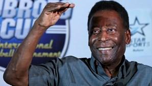"""Pelé está a """"recuperar bem"""" de operação a um tumor no cólon"""