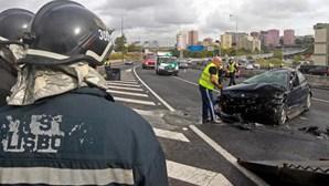 Acidentes rodoviários provocaram 386 mortos este ano