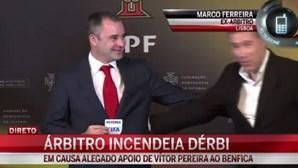 """Marco Ferreira: """"Benfica está muito acima dos telefonemas"""""""