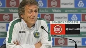 Jorge Jesus quer vencer Benfica para manter liderança