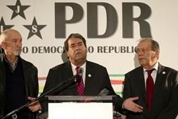 Marinho e Pinto reage aos resultados na noite eleitoral