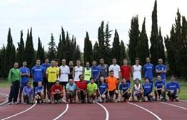 A equipa do Clube de Atletismo Pedro Pessoa, da Sobreda, em Almada, orgulha-se do trabalho que faz e de ter Nuno entre os atletas