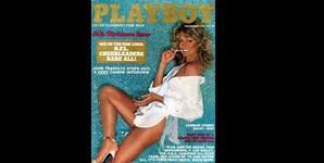 Dezembro de 1978: após sair da série de sucesso dos anos 70 ' Os Anjos de Charlie', a atriz Farrah Fawcett protagonizou uma sessão ousada para a Playboy. Aos 50 anos, em 1995, a atriz voltou a aparecer na revista.
