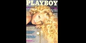 Fevereiro de 1983: antes de ser galardoada com o Óscar de Melhor Atriz, Kim Basinger foi capa da Playboy, após ter feito de 'bond girl' no filme '007 - Nunca Mais Digas Nunca'