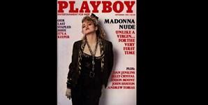 Setembro de 1985: Madonna era uma estrela em ascenção quando fez capa da Playboy. A revista usou fotografias da polémica cantora nua, tiradas em 1978, quando esta ainda lutava pela carreira, em Nova Iorque