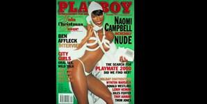 Dezembro de 1999: um mês depois de fazer a cápia da viragem do milénio na Vogue norte-americana, Naomi Campbell posou sem pudores e despiu-se para a edição da Playboy que assinalou a passagem do ano 1999 para 2000