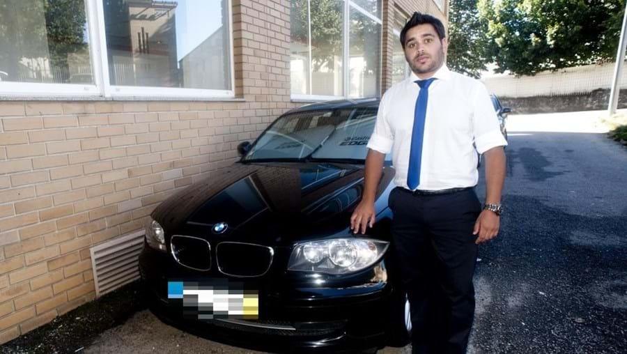 Luís Saraiva está impedido de usar BMW  há dois anos