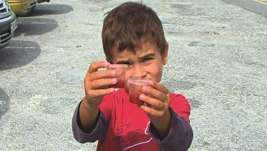 David é uma das crianças que estão a ser medicadas preventivamente em Viana do Castelo
