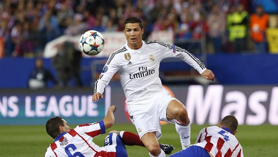 Cristiano Ronaldo soma 15 golos frente ao Atlético de Madrid