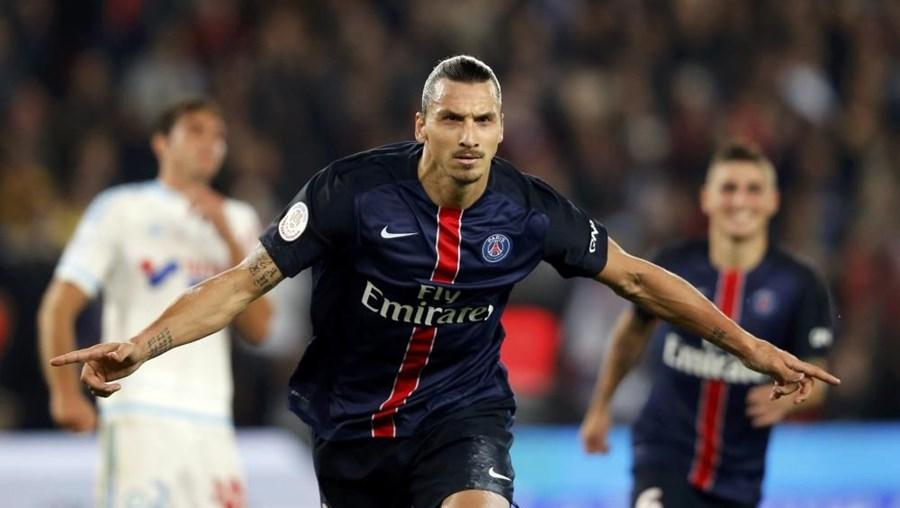 Zlatan Ibrahimovic, é agora o melhor marcador da história do PSG