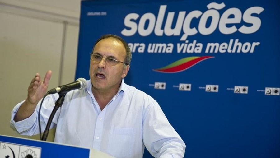 Francisco Lopes. membro do comité central do PCP