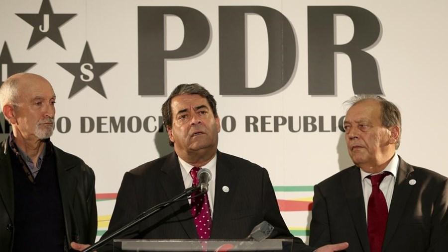 Marinho e Pinto, presidente do Partido Democrático Republicano