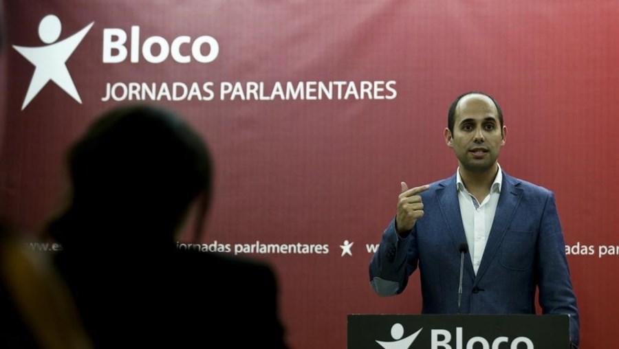 Pedro Filipe Soares, líder da bancada parlamentar do BE