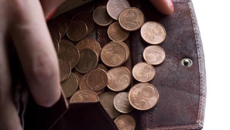 Moedas de um e dois cêntimos