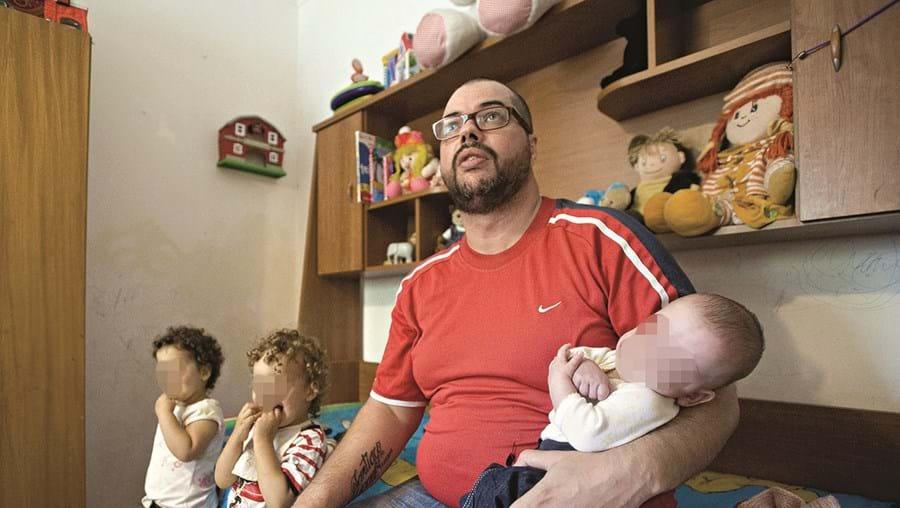 Samuel Garcia já tinha feito vários pedidos de ajuda para conseguir creche para os quatro filhos