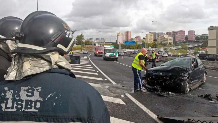 Entre 1 de janeiro e 21 de outubro foram registados 97.422 acidentes