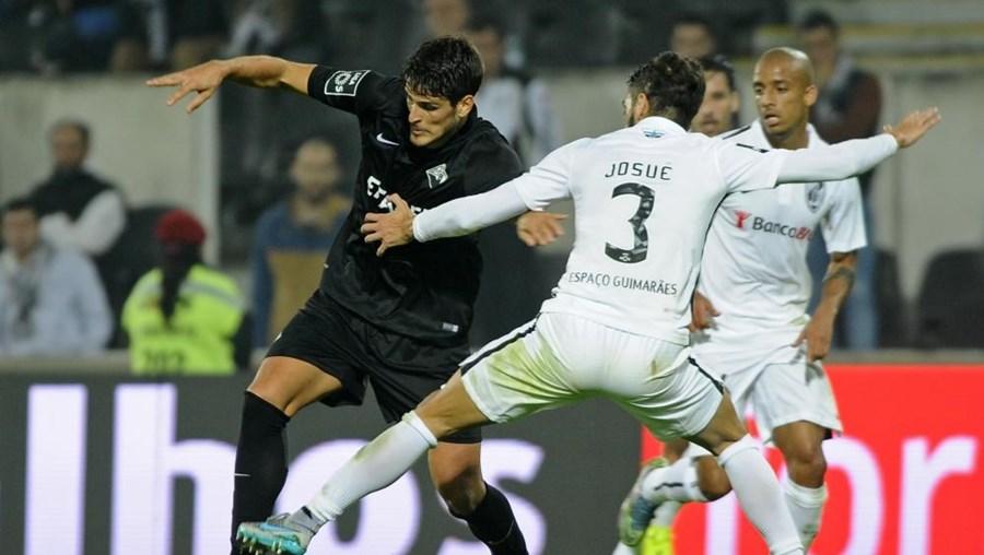 O jogo foi em Guimarães