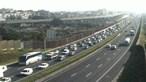 Acidente congestiona Ponte 25 de Abril