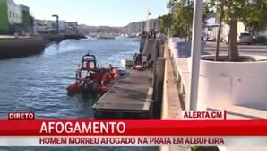 Homem morre afogado em Albufeira