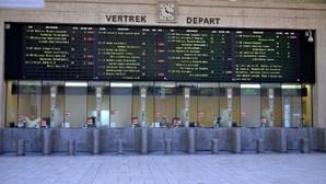 Comboios interrompidos entre Bruxelas e Lille