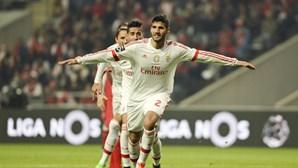 Ao minuto: Braga 0-2 Benfica