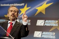O eurodeputado social-democrata Paulo Rangel