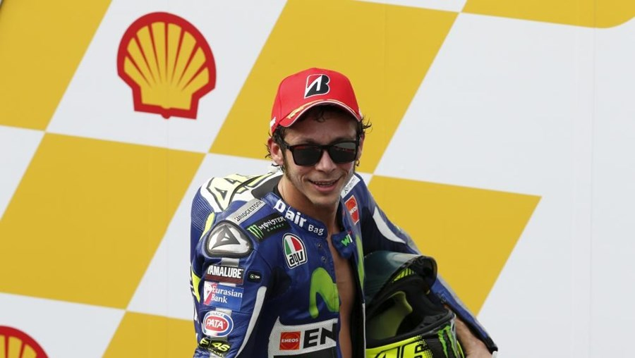 Valentino Rossi vai começar em último lugar no GP de Valência