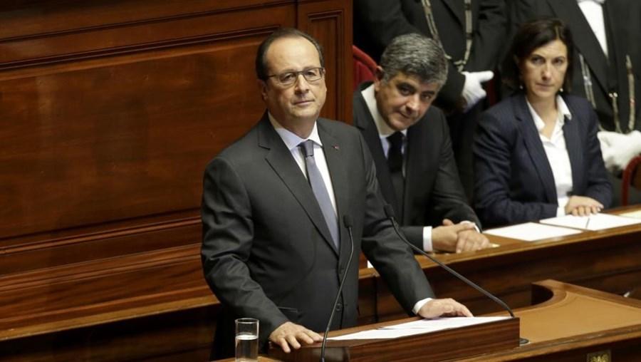 O presidente francês, François Hollande