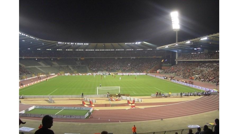 Encontro ia realizar-se no estádio Rei Baudouin
