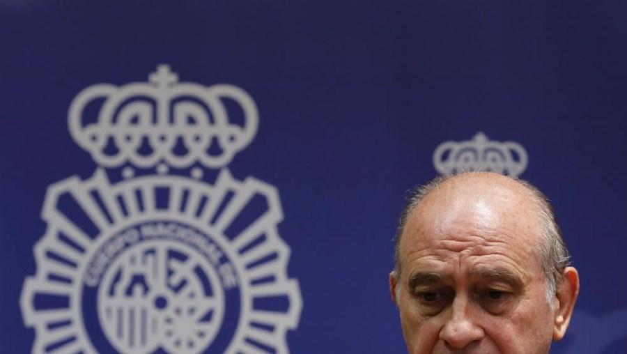 O ministro do Interior espanhol Jorge Fernández Díaz