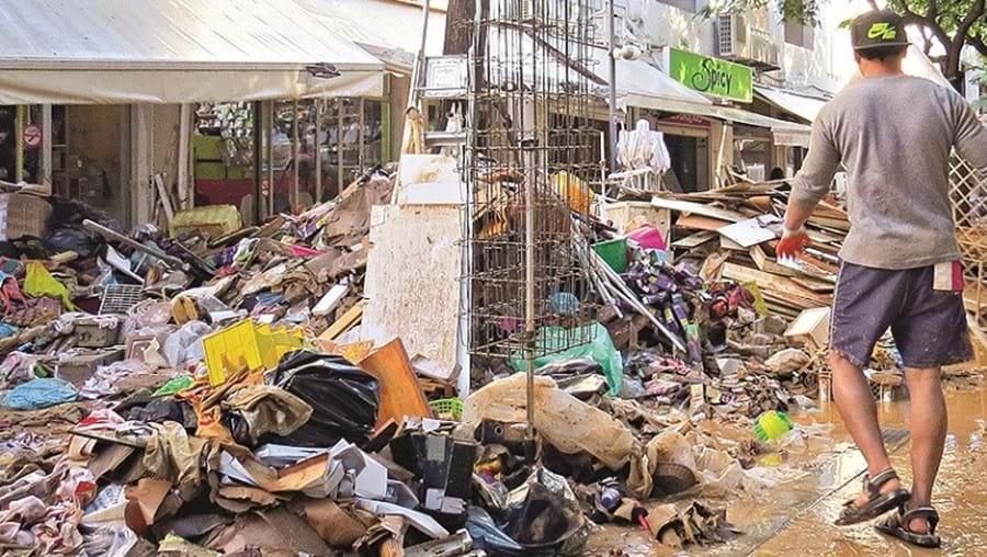 Estragos na Baixa da cidade são superiores a 14 milhões de euros