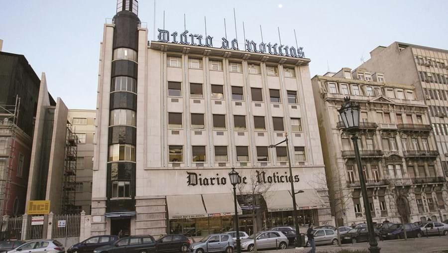 Sede do DN na avenida da Liberdade, em Lisboa