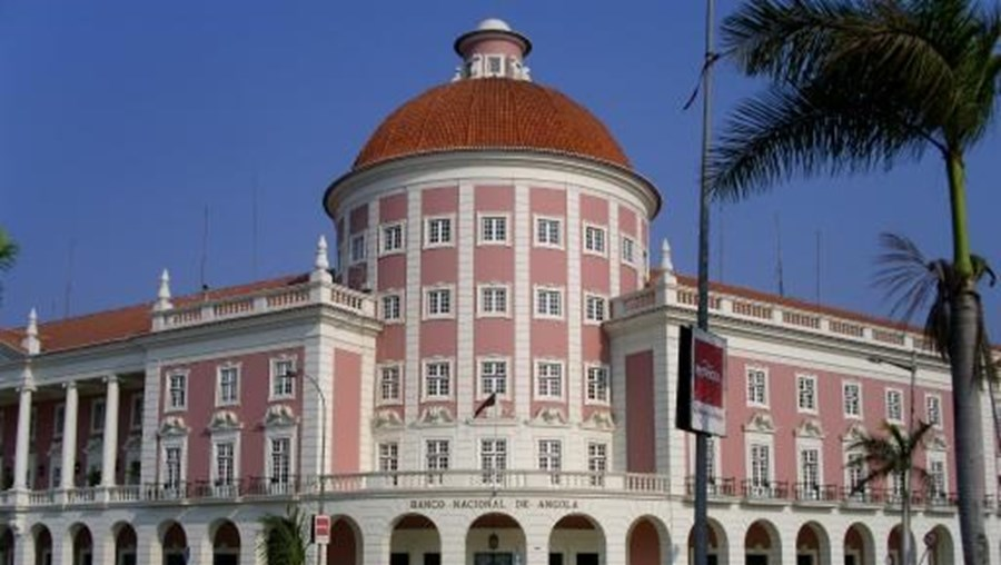Fachada da Banco Nacional de Angola