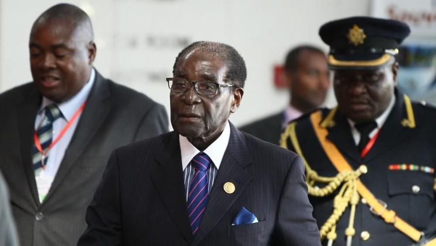 O presidente do Zimbabué, Robert Mugabe