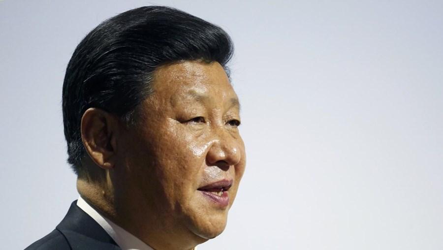 O Presidente da China Xi Jinping