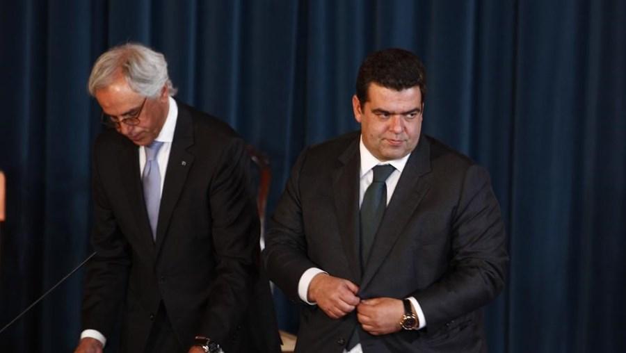O secretário de Estado dos Assuntos Fiscais Fernando Rocha Andrade