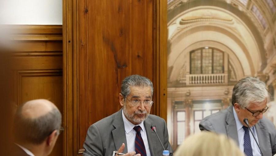 O presidente da CReSAP João Bilhim